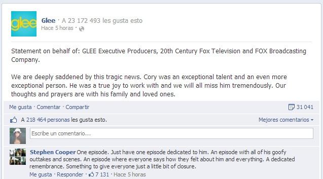 Glee | Facebook