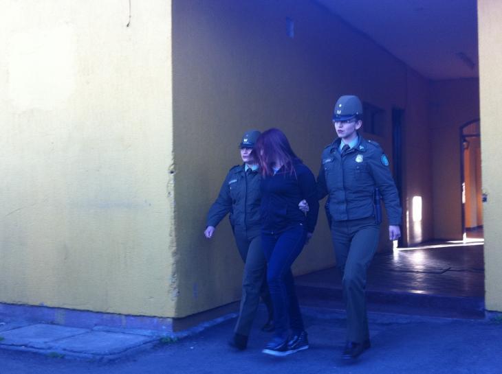 Darling Rivera Fuentes fue detenida | Rodrigo Pino (RBB)