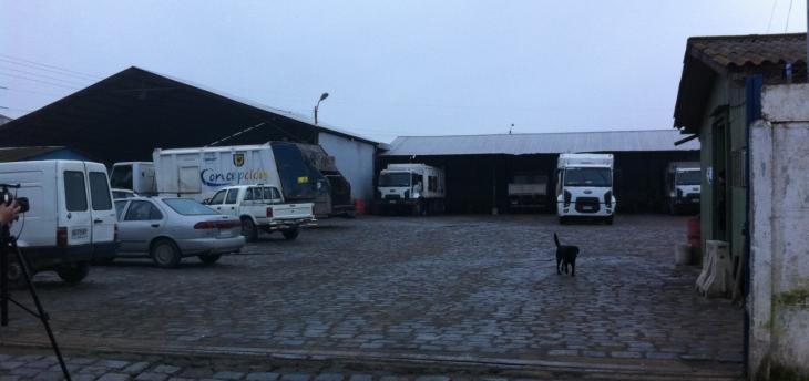 Camiones detenidos | Pedro Cid (RBB)