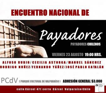 Afiche Encuentro de Payadores