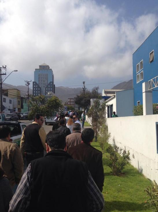 Simulacro en Antofagasta | @UpPato