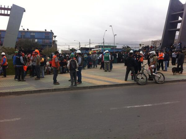 Simulacro en Antofagasta | @Aplastador