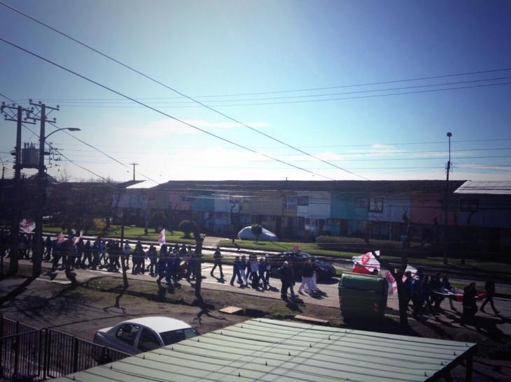 Marcha en Talcahuano | Marcelo Lillo | @mlilloh