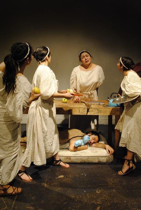 Una Odisea | Foto Eduardo Aguilera Teatro UC