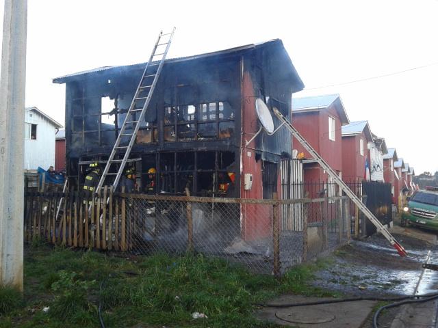 Incendio en Temuco | Carlos Martínez (RBB)
