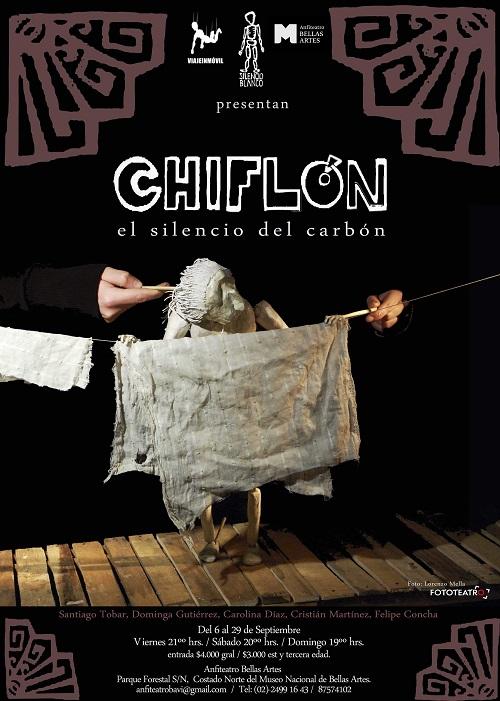 """""""CHIFLON, EL SILENCIO DEL CARBON"""