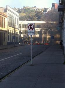 Barricadas en el Liceo Eduardo de la Barra