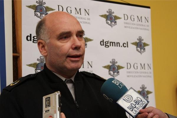 Director General Roberto Ziegele | Foto www.dgmn.cl