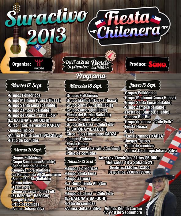 Fiesta Chilenera 2013