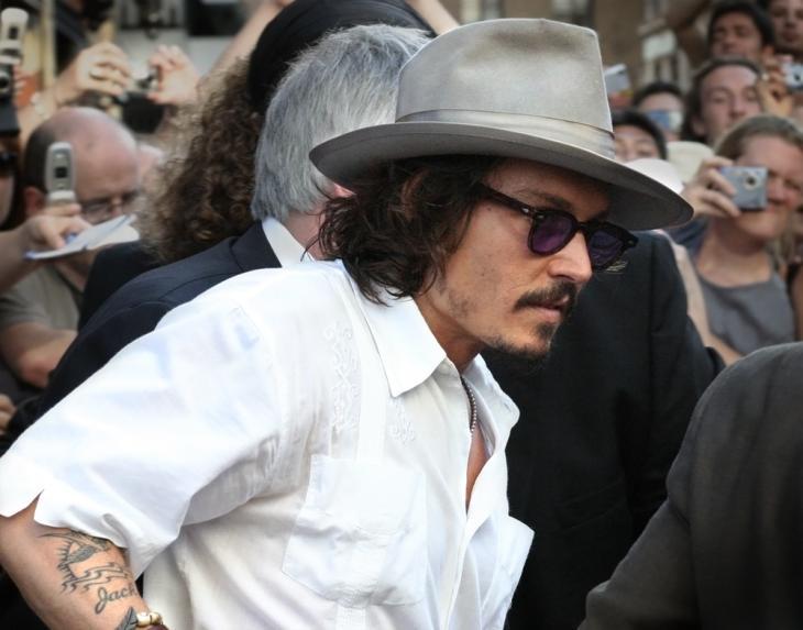 Johnny Depp | Caroline Bonarde Ucci (cc)