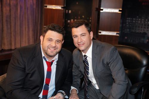 Richman y Jimmy Kimmel | Uproxx.com