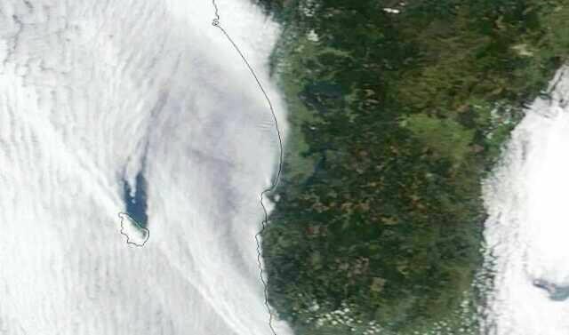 Imagen satelital Isla Mocha | Red de Emergencia