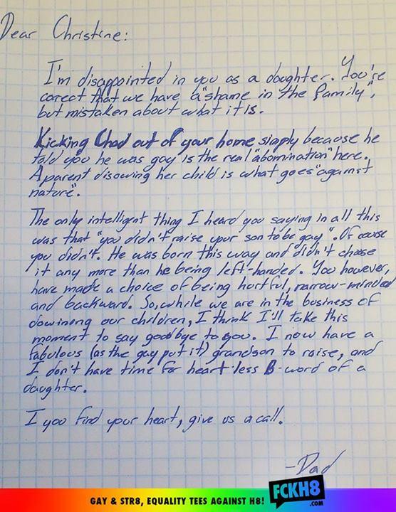 La carta original | FCKH8.com