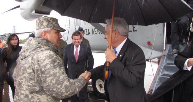 Presidente Piñera en Tirúa | FACH