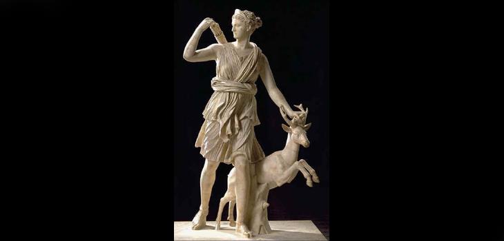 Diana de Versalles, copia romana de escultura griega