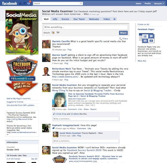 El 'Muro' de Facebook
