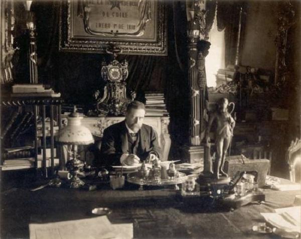 Heffer, German Riesco en oficina de La Moneda - CNPF