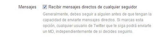 La nueva opción de Twitter