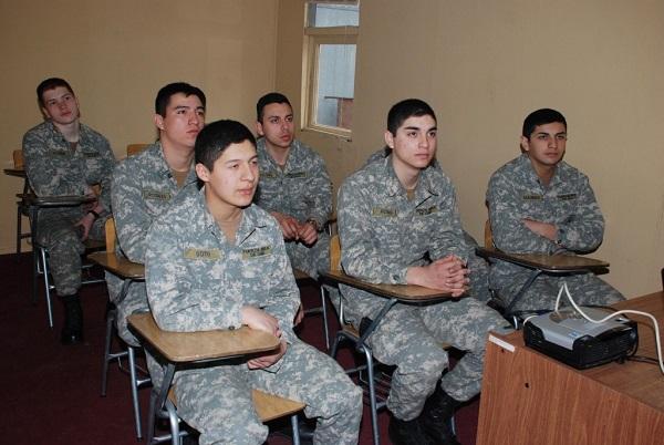 Soldados Conscriptos en Capacitación