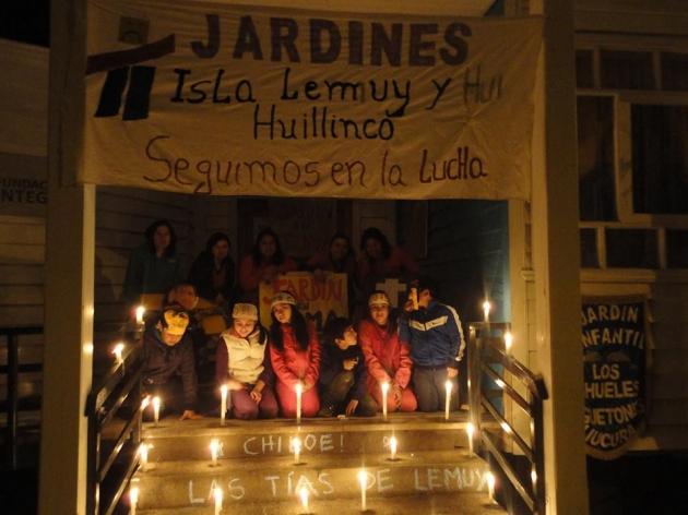 Velaton Jardines Isla Lemuy Chiloe | Francisca Arellano