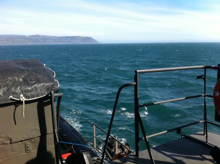 Vista desde el buque Almirante Merino | Pedro Cid (RBB)