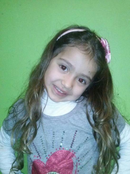 Trinidad Martínez, menor fallecida en el accidente