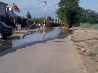 Inundación en Villa Santo Tomas etapa I, Rancagua | Bárbara Cabrera