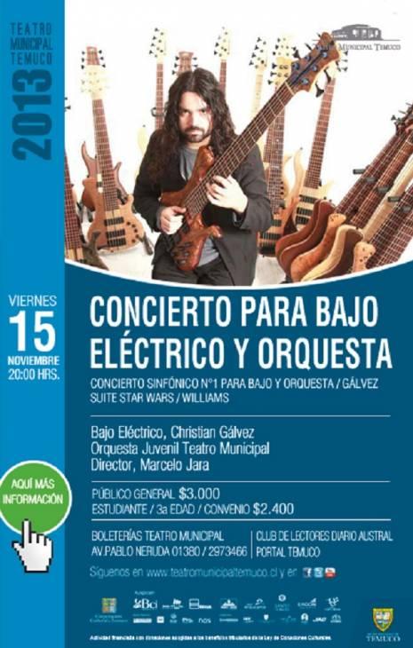 Concierto para Bajo Eléctrico y Orquesta