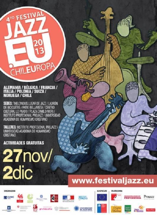 Festival de Jazz ChileEuropa 2013