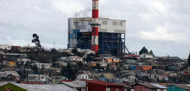 Termoeléctrica Bocamina II | Victor Salazar/AgenciaUNO