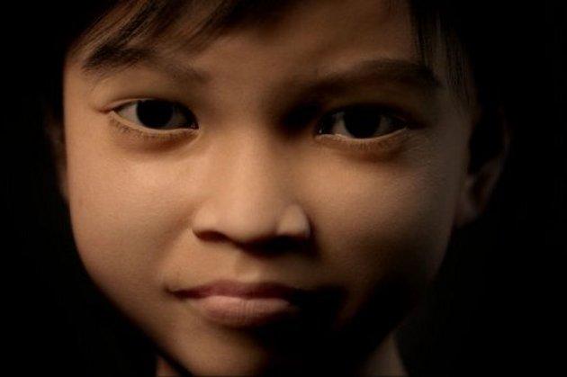 Así luce 'Sweetie' | www.terresdeshommes.org