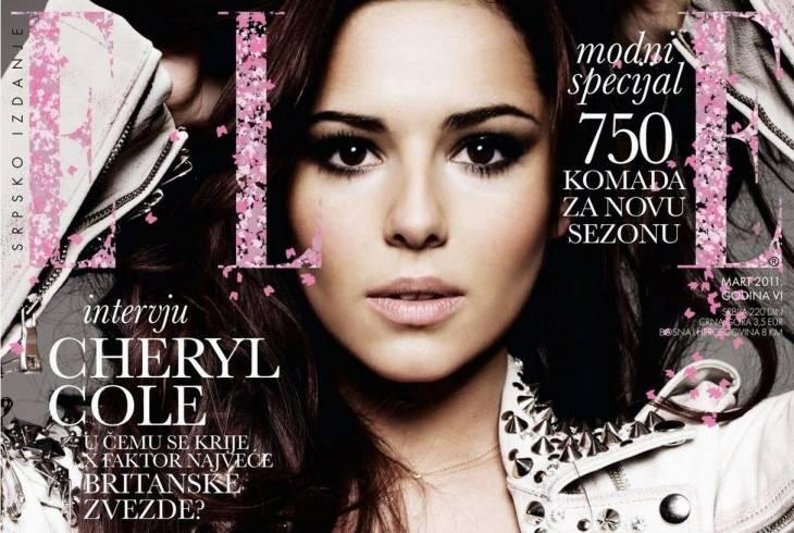 Cheryl Cole | Elle Magazine