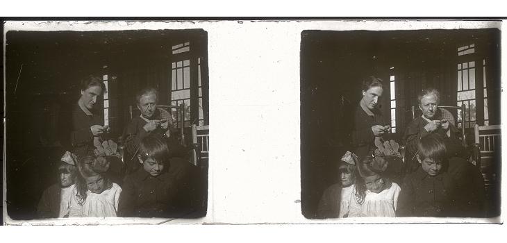 Familia de J. Bertrand alrededor de 1918