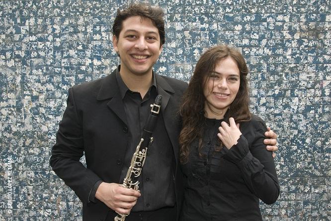 Giselle Moraga y Víctor Coba