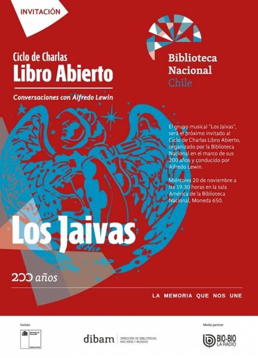 CICLO DE CHARLAS LIBRO ABIERTO