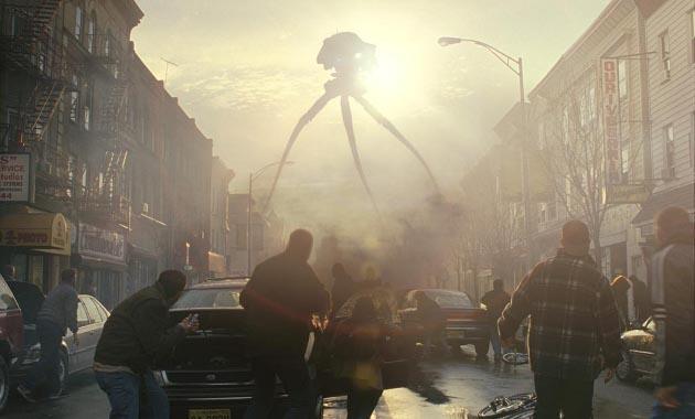 """Los trípodes en """"La Guerra de los Mundos""""   Paramount Pictures"""