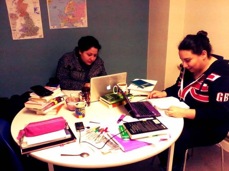 Sesión de estudios en GB | Claudia Farah