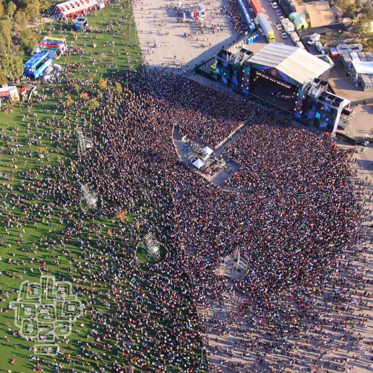 Lollapalooza Chile en Facebook