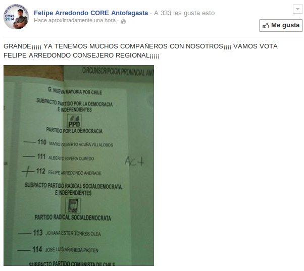 Felipe Arredondo | Facebook