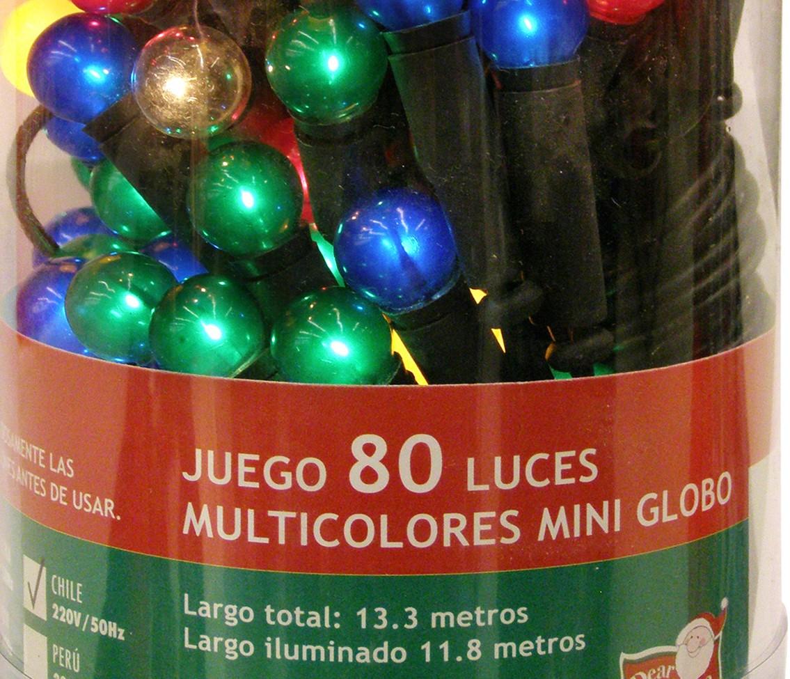7ccbdea343f Sodimac retira de venta tres tipos de luces navideñas y reembolsará a  quienes las hayan comprado
