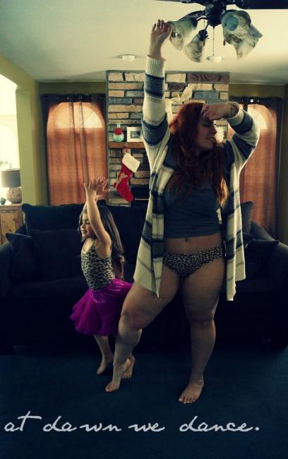 Brittany Gibbons y su hija