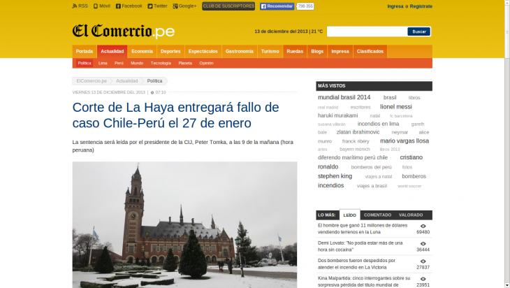 El Comercio | www.elcomercio.pe