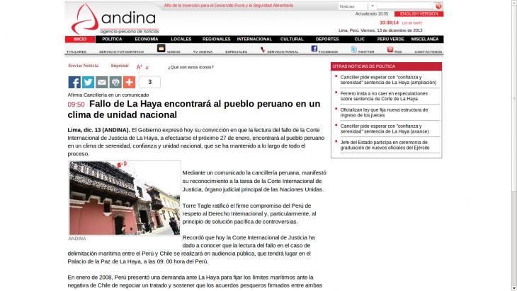 Andina | www.andina.com.pe