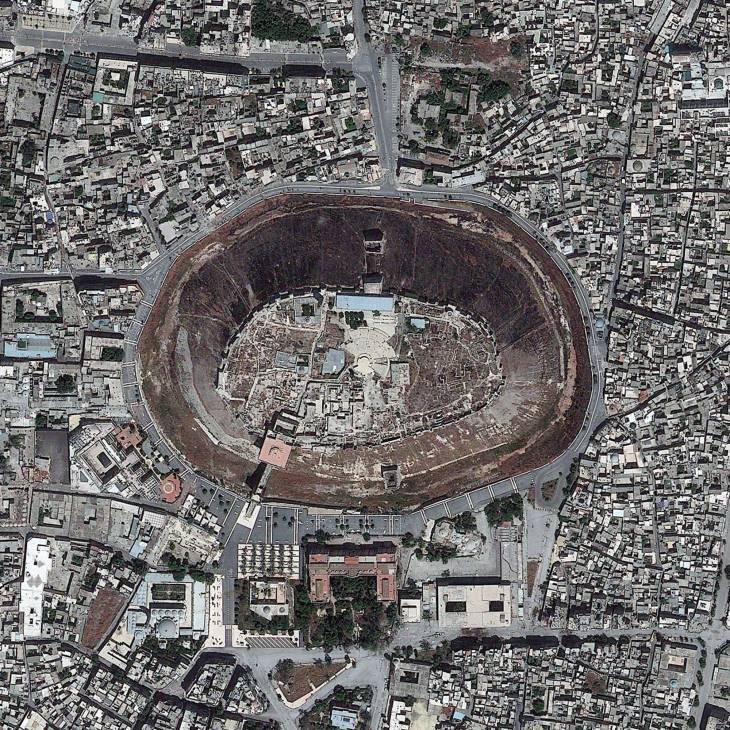 Ciudadela de Alepo | digitalglobe.com