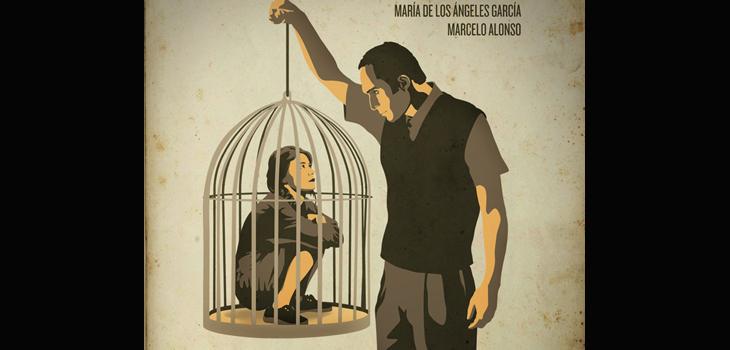 Detalle del afiche de La Mujer de Iván