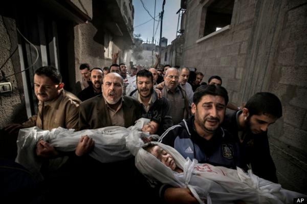Gaza Burial | Paul Hansen