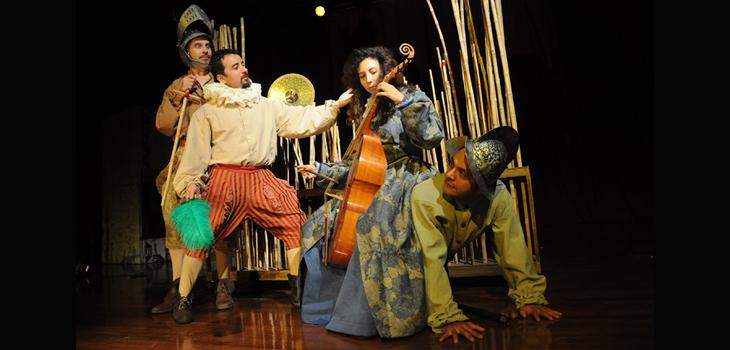 La Araucana, II Fiesta de Juglares de Tryo Teatro Banda (c)