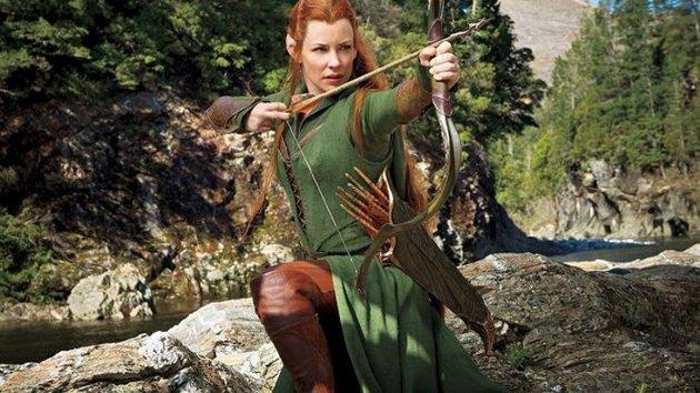 Lilly como Tauriel | El Hobbit