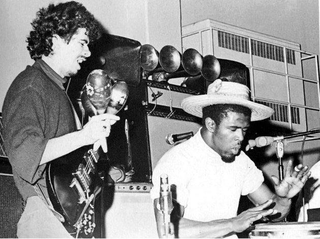 Santana y Malone en su juventud | KRON4