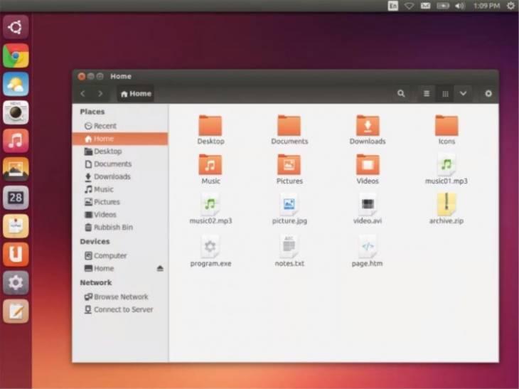 Ubuntu en su versión de Escritorio